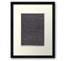 """""""Dictionary 10"""" (canon-cellar) Framed Print"""