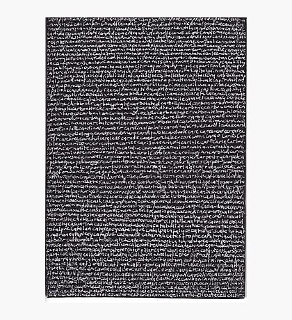 """Dictionary 10"" (canon-cellar) Photographic Print"
