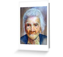 """follow up to """"Grandmother"""" (97 yrs old) Greeting Card"""
