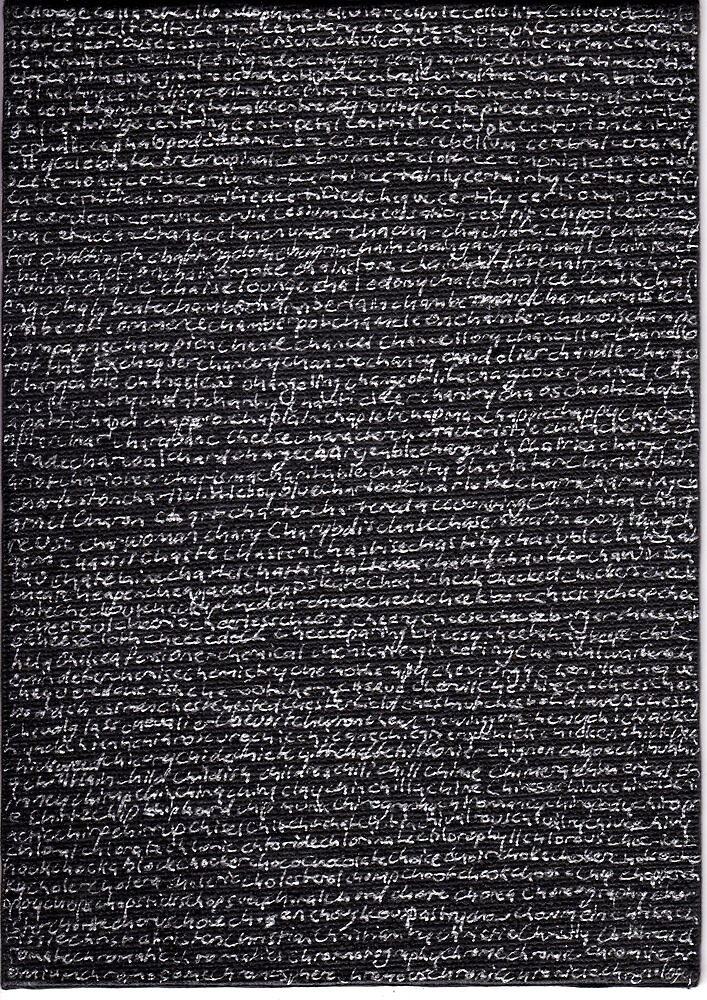 """""""Dictionary 11"""" (cellarage-chronology) by Michelle Lee Willsmore"""