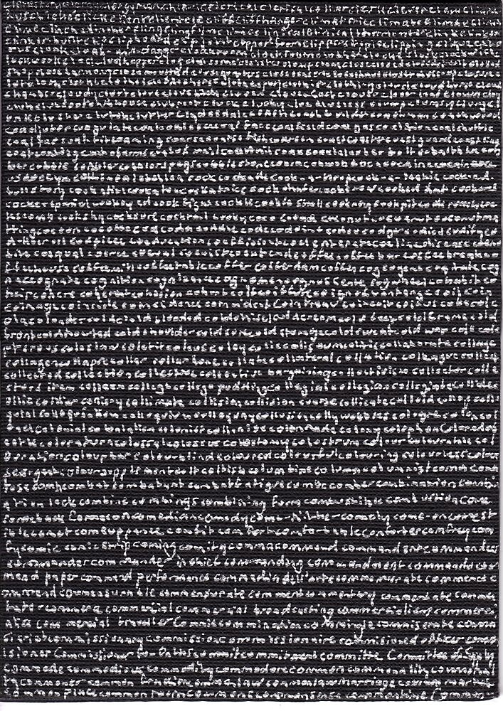"""""""Dictionary 12"""" (chronometer-common time) by Michelle Lee Willsmore"""