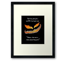 Nothing Delights a Dungeon Master like: Framed Print