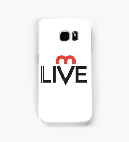 Live. Laugh. Love. Samsung Galaxy Case/Skin