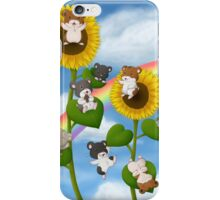 Sunflower Hamsters iPhone Case/Skin