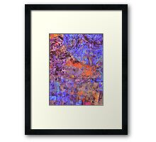 Lachlan River Textile Art Framed Print