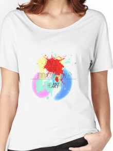 heART. - colorful Women's Relaxed Fit T-Shirt
