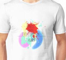 heART. - colorful Unisex T-Shirt