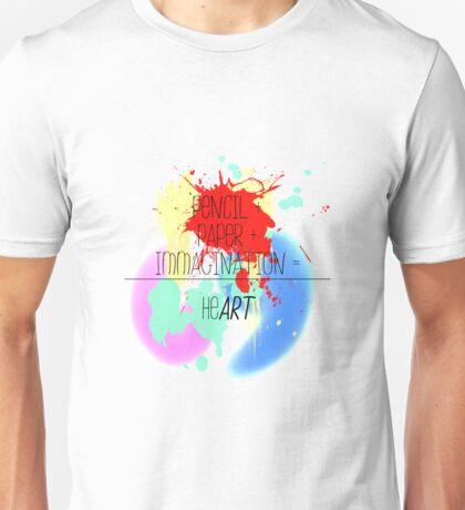 heART. - colorful Unisex T-Shirt