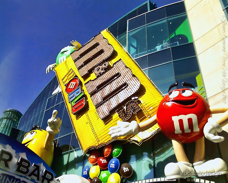 M&M's World by rocamiadesign