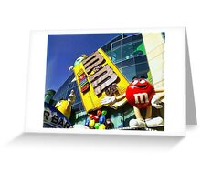 M&M's World Greeting Card