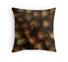 35 onion Throw Pillow