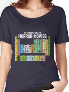 Periodic Table of Horror Movies Women's Relaxed Fit T-Shirt
