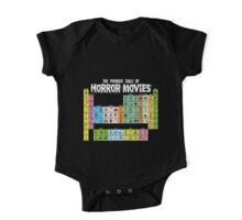 Periodic Table of Horror Movies One Piece - Short Sleeve