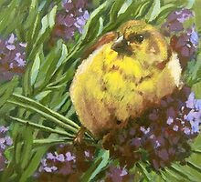 Yellow Bird by Karen Ilari