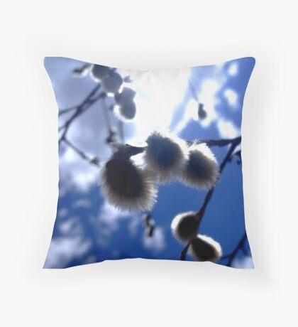 Blue Willow Throw Pillow