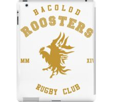Bacolod Roosters RFC iPad Case/Skin