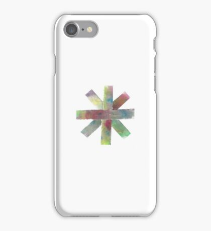 Watercolor Asterisk iPhone Case/Skin