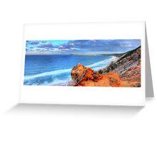 Rainbow Beach - Double Island Point Greeting Card