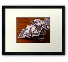03-10-11:  Bookmaking Framed Print