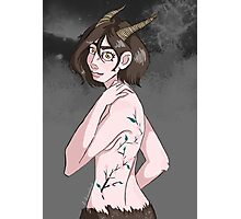 Lady-Satyr Photographic Print