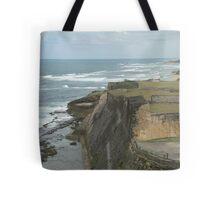 Caribbean Cliff - San Juan Puerto Rico Tote Bag