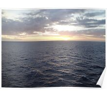 Caribbean Sunset Two Poster