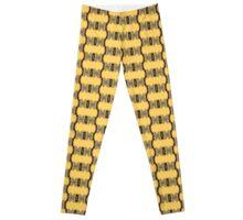 Yellow Crystal Leggings
