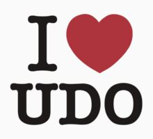 I Love UDO by ilvu