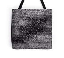 """Dictionary 40"" (modern languages-muscular) Tote Bag"