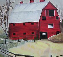 Big Red by Debbie  Adams