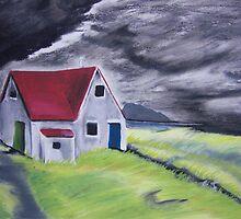 Stormy Skies by Debbie  Adams