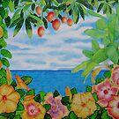 Hibiscus Island by joeyartist