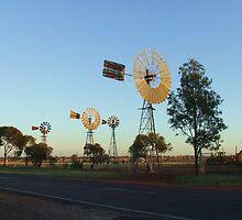 Windmills by Liza Barlow