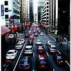 Red Traffic by Vanessa Serroul