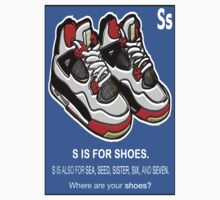 S IS FOR SHOES by S DOT SLAUGHTER