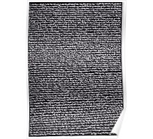 """Dictionary 52"" (quarterdeck-reheat) Poster"