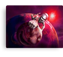 the chromium climber Canvas Print