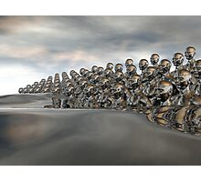 Wave Of Humanity Photographic Print