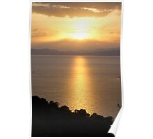 { greek sunset } Poster