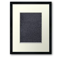 """Dictionary 67"" (utopia-washer) Framed Print"