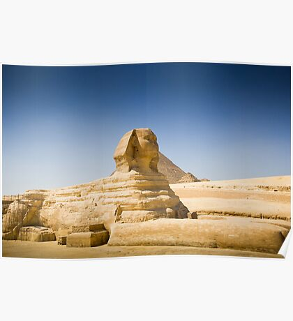{ the great sphinx of giza } Poster