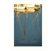 TOWNSVILLE HARBOUR © Vicki Ferrari Photography Art Print