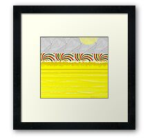 """Four at the Shore"" Framed Print"