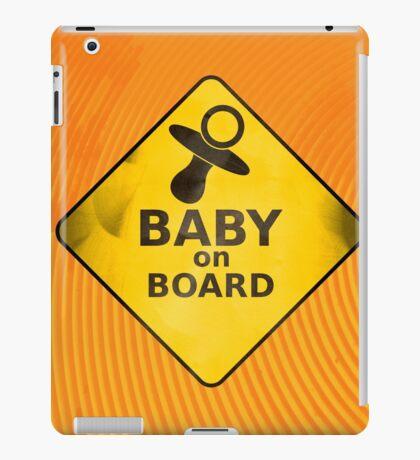 Baby on Board iPad Case/Skin