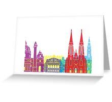 Vienna skyline pop Greeting Card