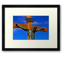 Jesus of Nazareth The King of The Jews Framed Print