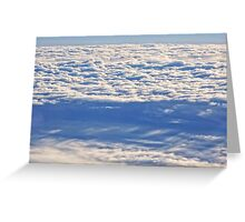 Above the Clouds 2 Greeting Card