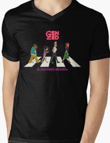 Zeddy Road: A modern classic Mens V-Neck T-Shirt