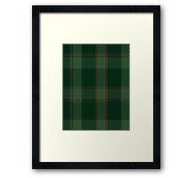 00587 Donachie of Brockloch Hunting Clan/FamilyTartan  Framed Print