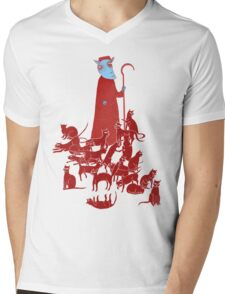 Herding Cats Mens V-Neck T-Shirt